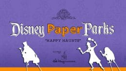 Disney Paper Parks: Happy Haunts Edition graphic