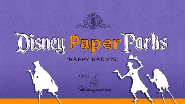 Disney Paper Parks: Happy Haunts Edition graphic