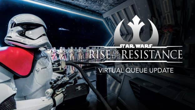 Star Wars: Rise of the Resistance Virtual Queue Update