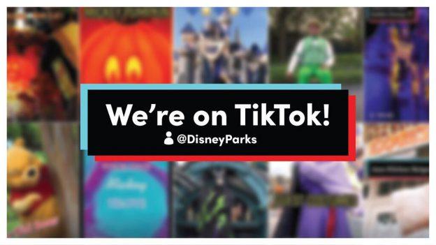 We're on TikTok! @DisneyParks