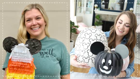 Disney fnas with their Halloween DIY crafts