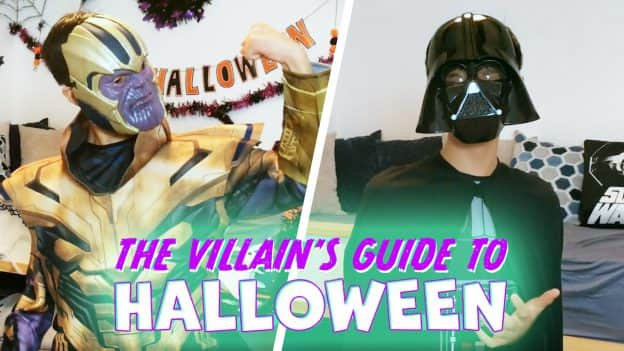 The Villain's Guide to Halloween graphic