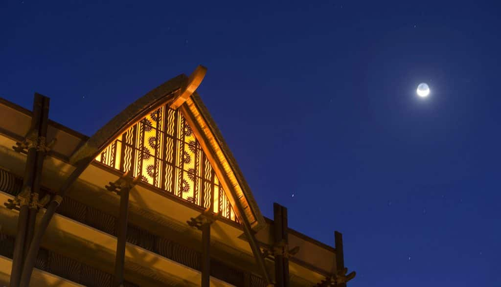 Moon over Aulani, a Disney Resort and Spa