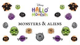 Disney HalloMoments Monsters and Aliens graphic