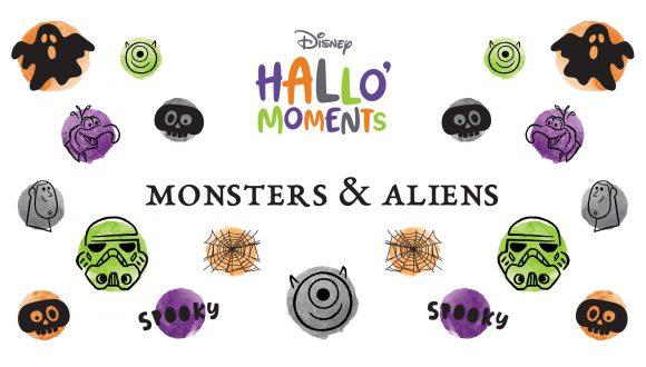 Disney HalloMoments Monsters and Aliens graphic