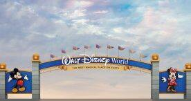Artist concept of gateway at Walt Disney World Resort