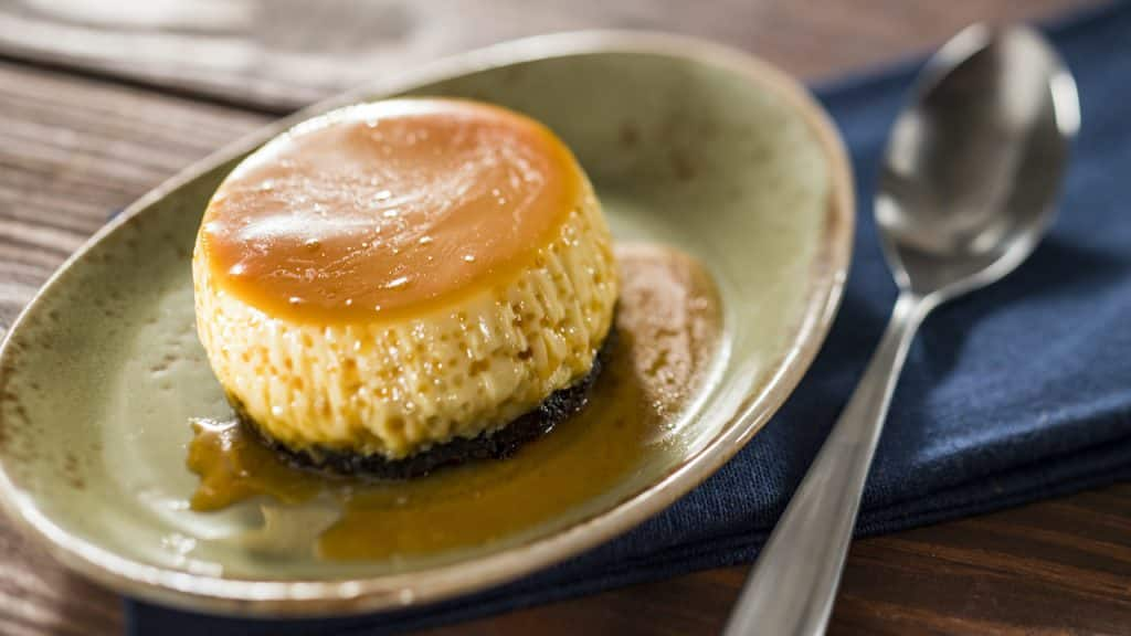 Flan from EPCOT