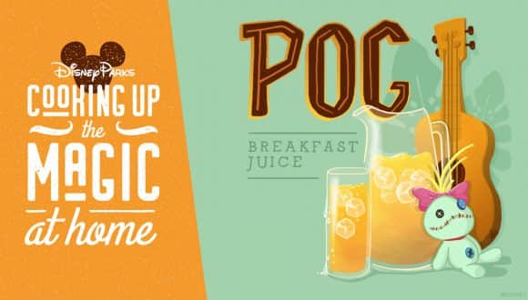 POG Breakfast Juice Recipe graphic