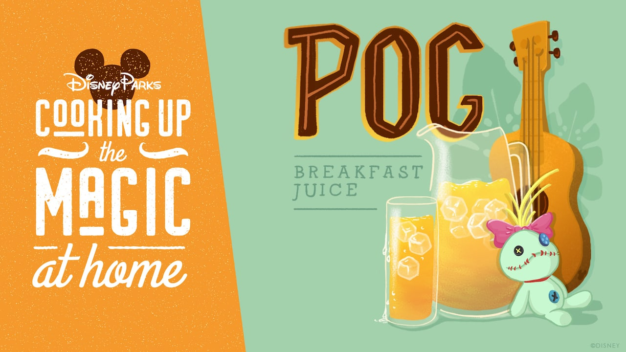 #DisneyMagicMoments: Cooking Up the Magic — Experience a Tropical Paradise at Home with POG Breakfast Juice Recipe