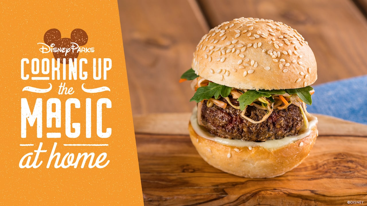 #DisneyMagicMoments: Cooking Up the Magic – Enjoy the Impossible™ Burger Slider at Home or at Taste of EPCOT International Food & Wine Festival through Nov. 22