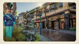 Downtown Disney District at Disneyland Resort - Seasons Greetings - Walt Disney Parks and Resorts