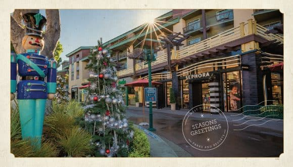 Downtown Disney District at Disneyland Resort - Seasons Greetings - Walt Disney Parks and Resorts