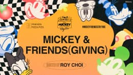 Mickey and Friends(giving) graphic