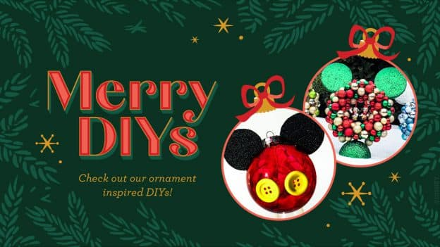 Merry DIY graphic for #DisneyMagicMoments