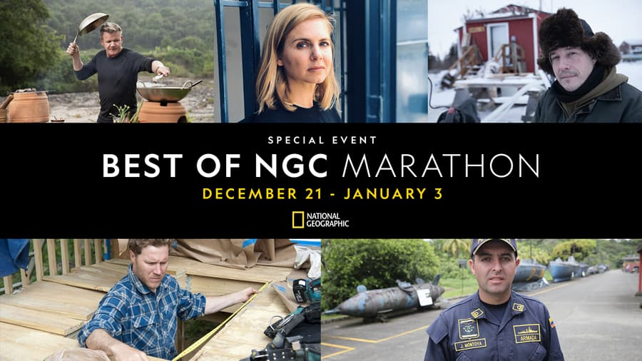 Special Event: Best of NGC Marathon - December 21 - January 3 - National Geographic