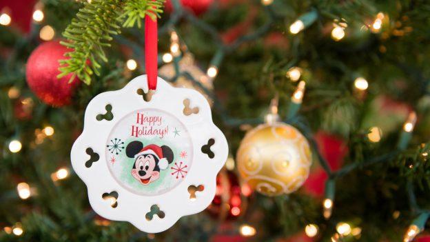 Happy Holidays Ornament from Disney PhotoPass