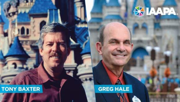 former Walt Disney Imagineering creative executive Tony Baxter and Disney Parks' chief safety officer Greg Hale