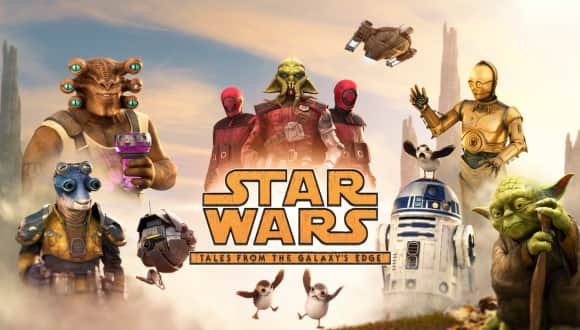 New Virtual Reality Adventure Star Wars: Tales from the Galaxy's Edge graphic