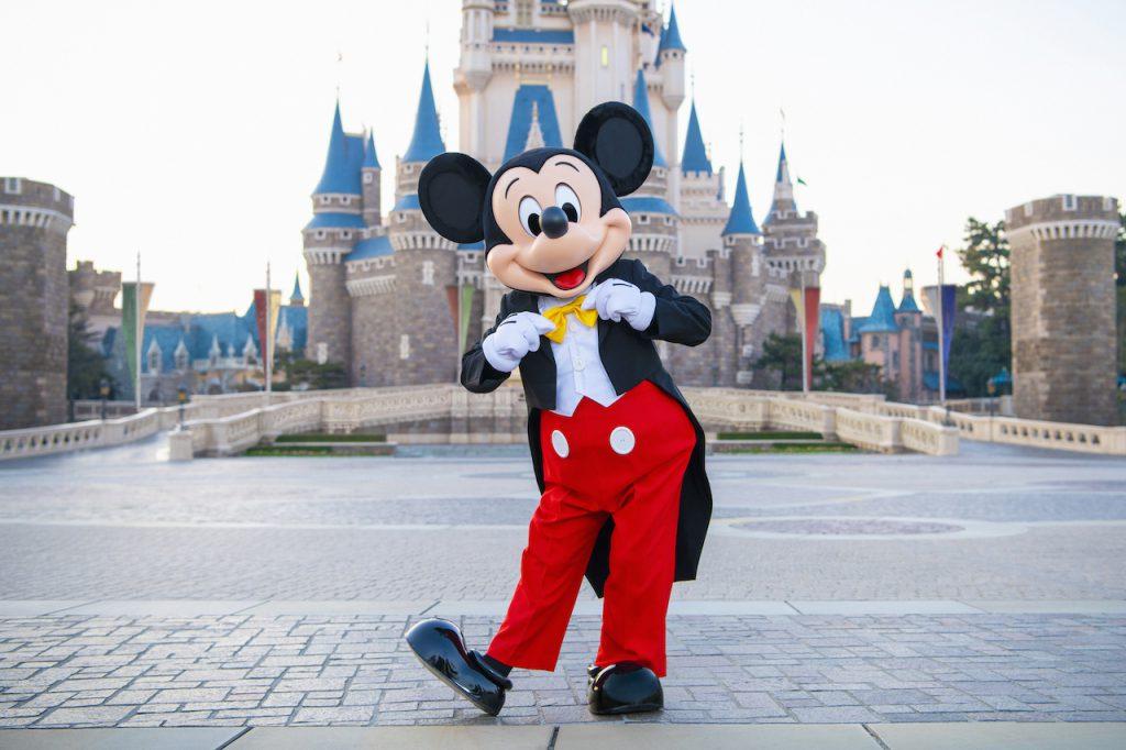 Mickey Mouse at Tokyo Disney Resort
