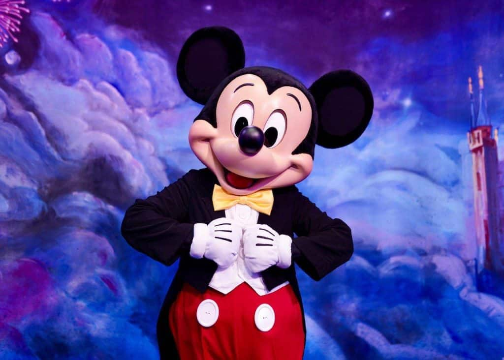 Mickey Mouse at Shanghai Disney Resort