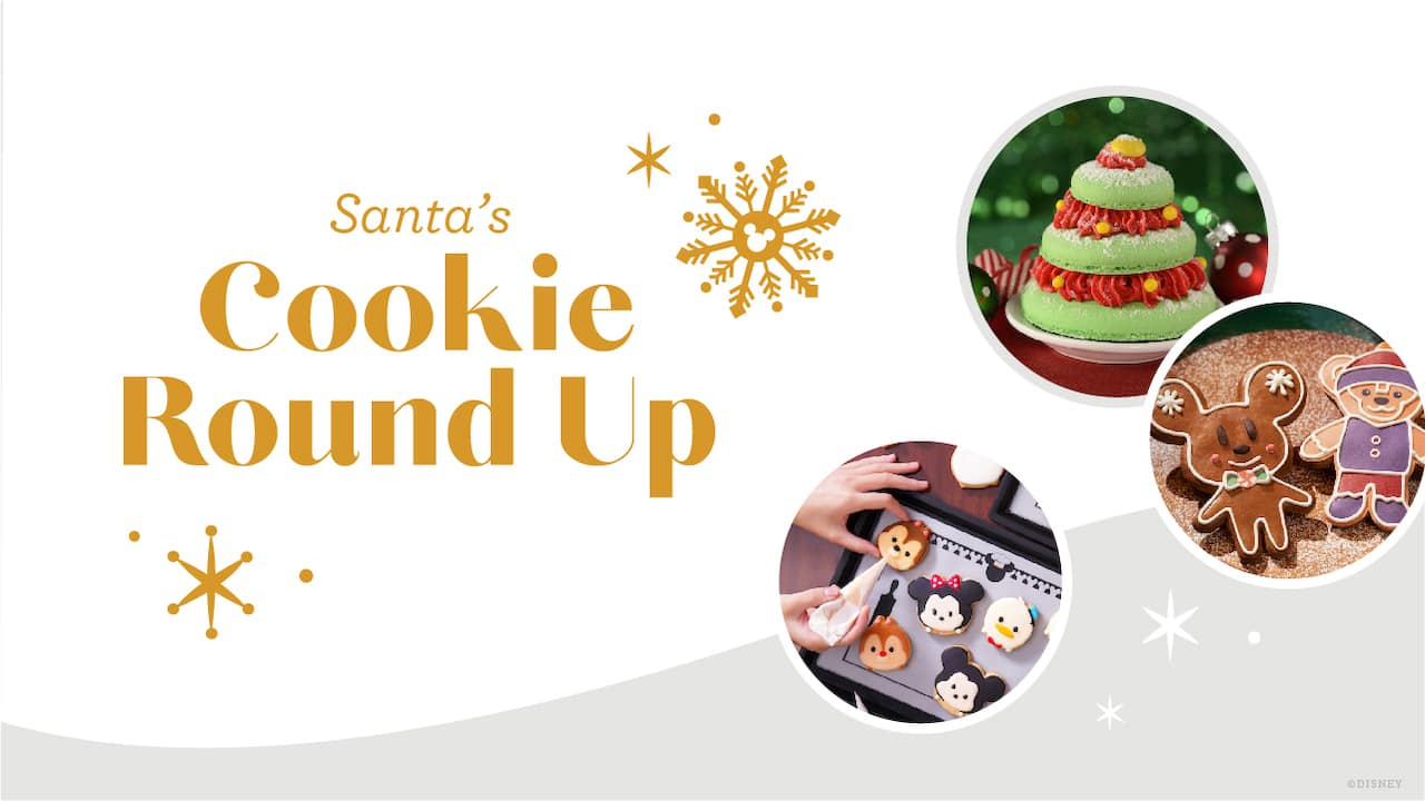 #DisneyMagicMoments: Enjoy a Sleighful of Magnificently Merry Disney Christmas Cookie Recipes