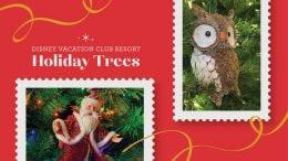 Disney Vacation Club Resort Holiday Trees