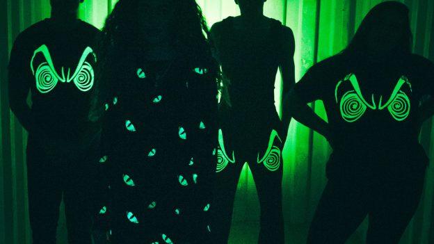 Disney Villains x Heidi Klum Collection - glow in the dark effects