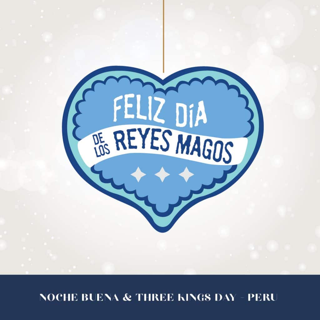 Happy holidays from Peru graphic