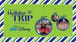 planDisney Holiday Trip Tips graphic
