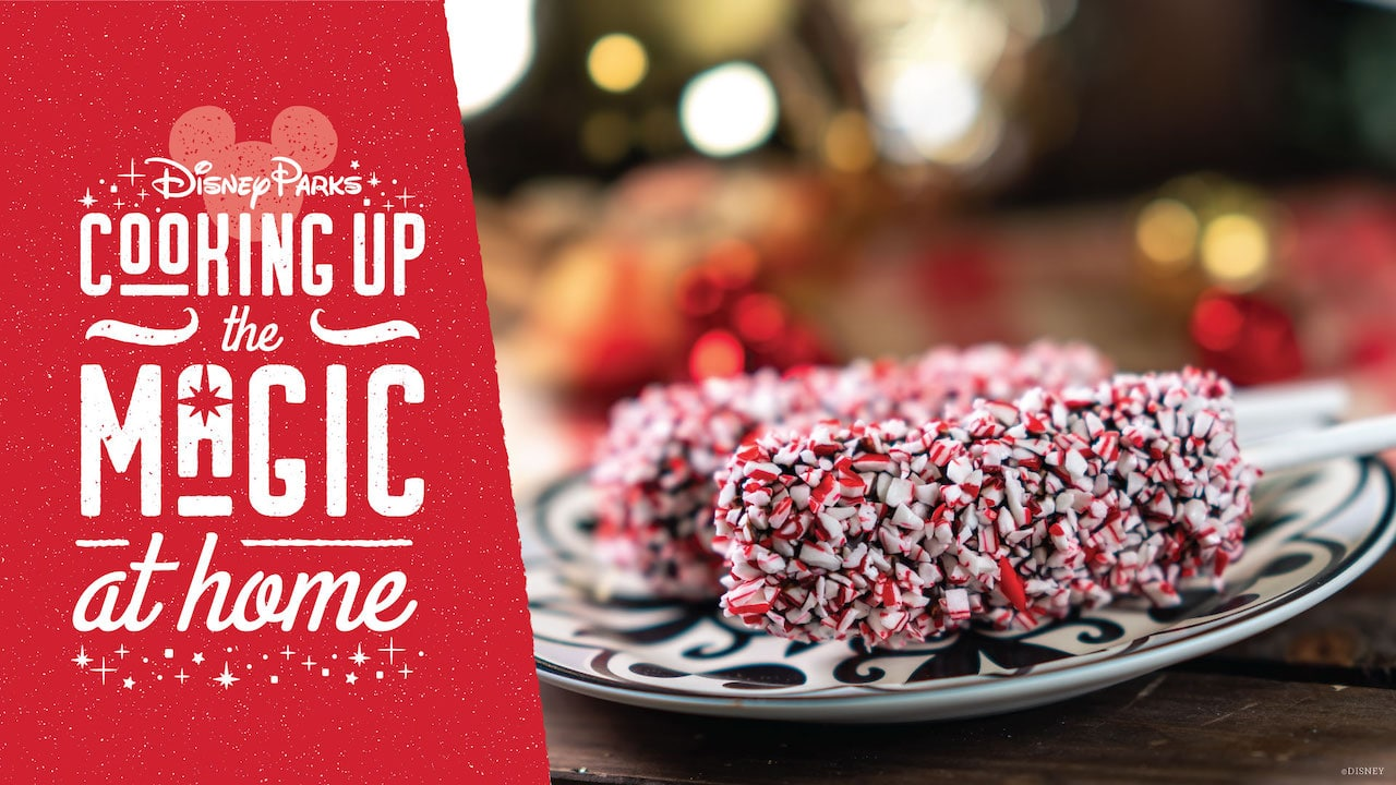 #DisneyMagicMoments: Cooking Up the Magic — A Sweet Holiday Recipe for Peppermint Marshmallow Wands from Marceline's Confectionery