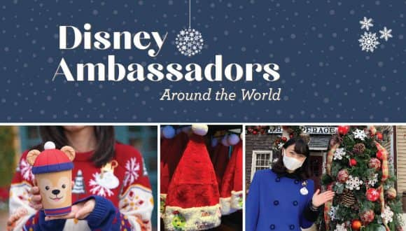 Season Greetings from the Global Ambassadors team graphic