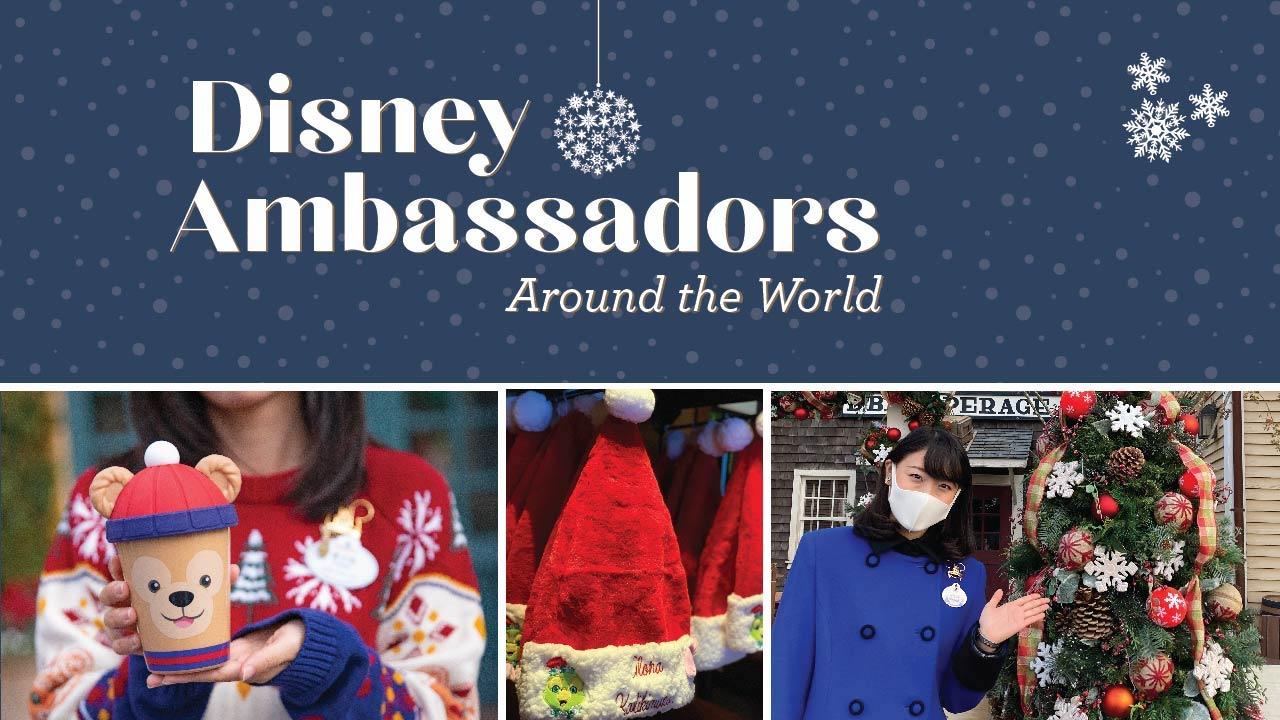 Embaixadores Disney desejam boas festas!