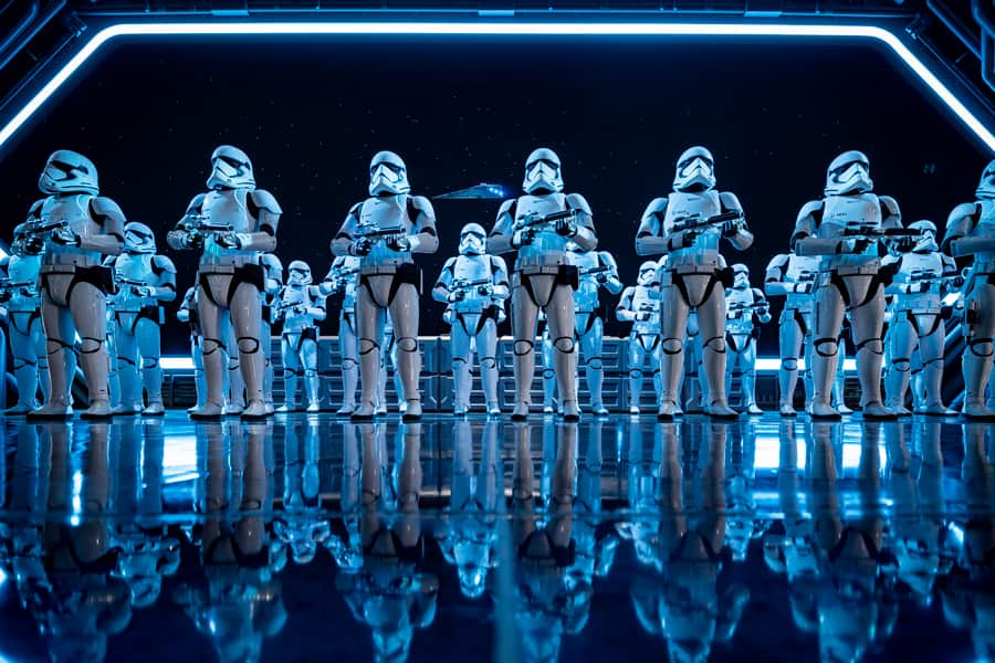 #DisneyMagicMoments: Behind the Camera –Star Wars: Rise of the Resistance at Disney's Hollywood Studios…From a Certain Point of View