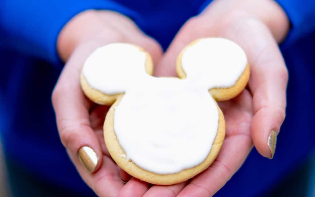 Shortbread Cookies from Disneyland Resort