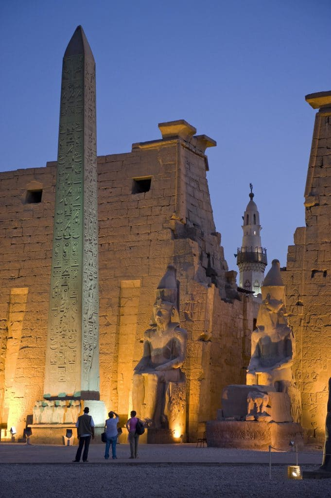 Adventures by Disney will transport guests to the storied land of pharaohs and pyramids in 2020 with the launch of an unforgettable family vacation itinerary in Egypt. This three-part tour features adventures by land, river and sea, including a visit to Luxor Temple. (Kent Phillips, photographer)