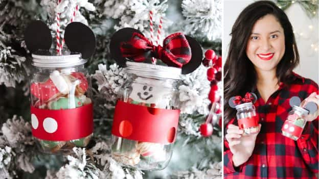 Mickey Mouse-Inspired Ornament/Gift by Maggie Tompkins