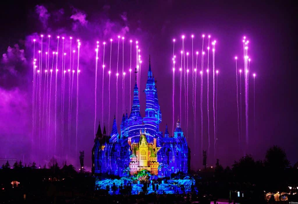 """Ignite the New Year"" at Shanghai Disneyland"