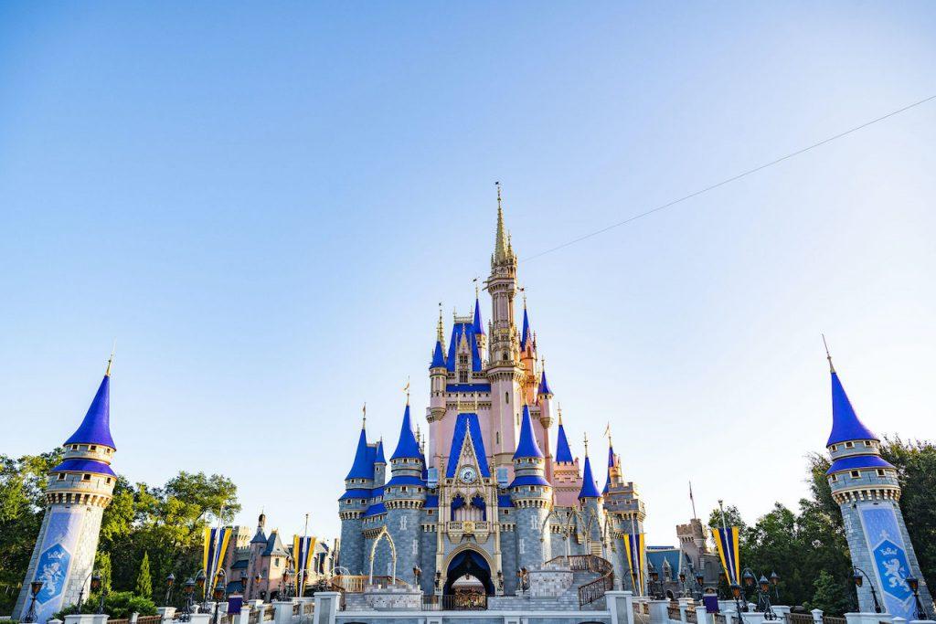Cinderella Castle, the icon of Magic Kingdom Park