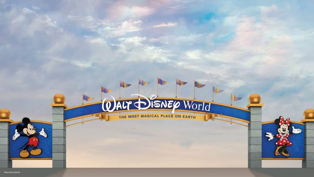 New Entrances to Walt Disney World Resort
