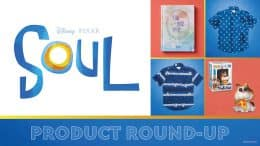 Collage of 'Soul' merchandise
