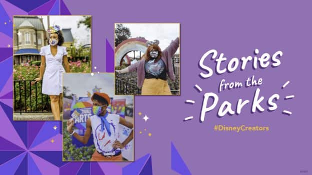 'Stories from the Parks' at the Taste of EPCOT International Festival of the Arts graphic
