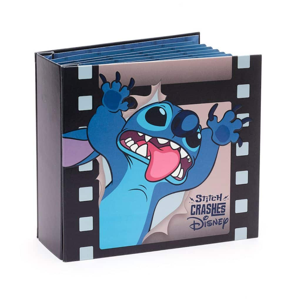 Stitch Crashes Disney Pin Trading book