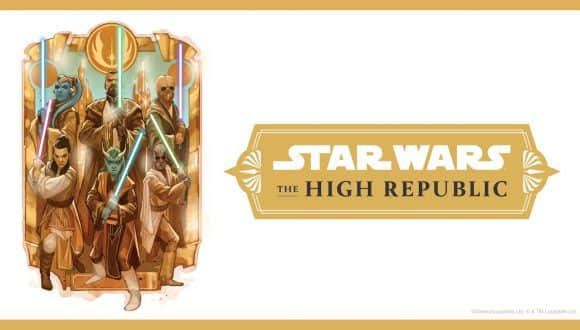 First Publishing Works for Star Wars: The High Republic graphic