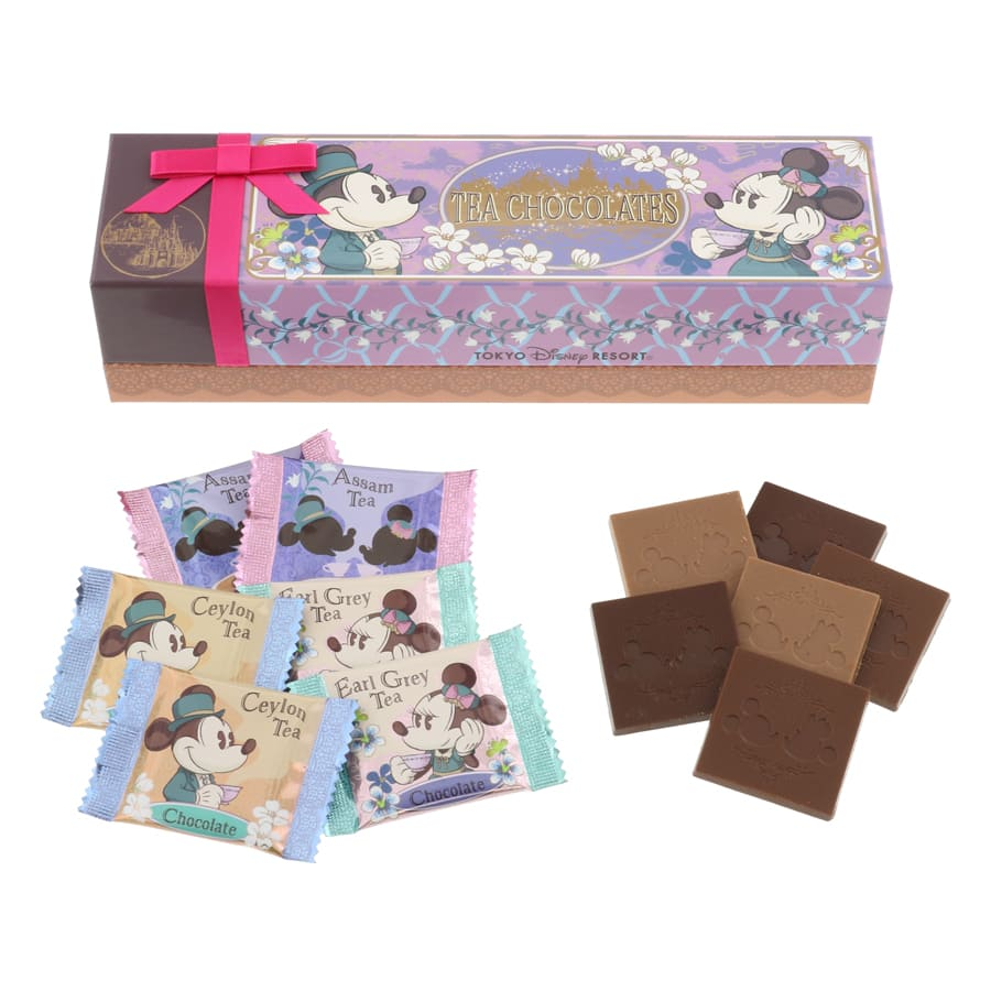 Japanese Tea Chocolate at Tokyo Disney Resort