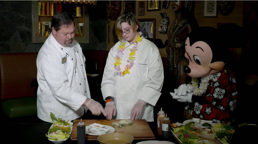 Cheff Jeff, Winter and Mickey Mouse