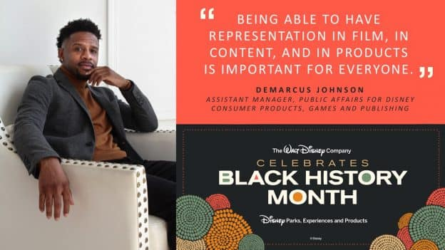 Demarcus Johnson, Assistant Manager, Public Affairs for Disney Consumer Products, Games and Publishing
