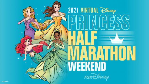runDisney Virtual 2021 Disney Princess Half Marathon Weekend