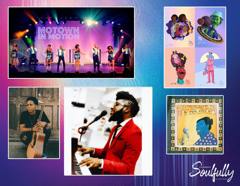 Experience Motown Mondays, Jazz Thursdays and Smooth Sundays at Disney Springs