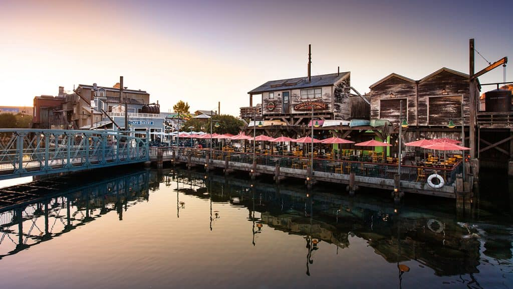 Pacific Wharf at Disney California Adventure park