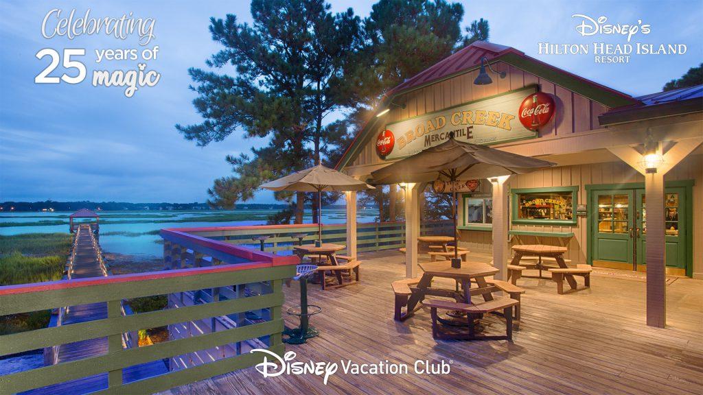 Celebrating 25 Years of Magic - Disney's Hilton Head Island Resort - Disney Vacation Club